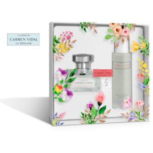 Le Jardin de Carmen Vidal La Toscane Eau de Parfum + Olio per il Corpo Edizione Limitata-01-01