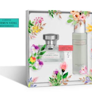 Le Jardin de Carmen Vidal Mediterranee Eau de Parfum + Olio per il Corpo Edizione Limitata